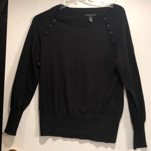 Kenneth Cole Black sweater.  Size Large